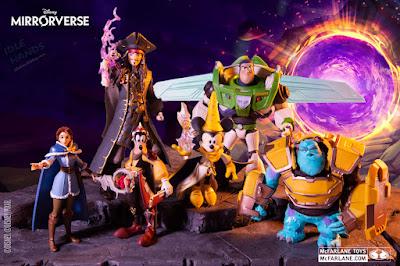 McFarlane Disney Mirrorverse Guardians Action Figures