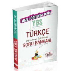 Editör YGS Türkçe Hızlı Öğretim Soru Bankası