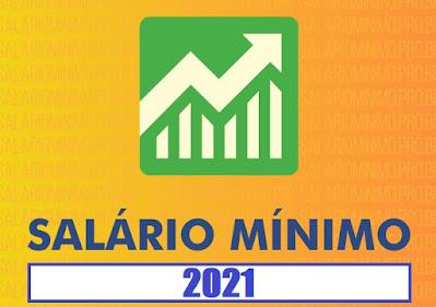 Salário mínimo de 2021 será de 'incríveis' R$ 1.088