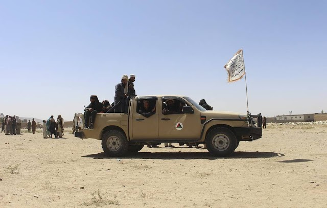 Taliban radical militant group announces establishing control of entire territory of Afghanistan