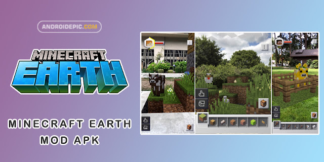 Download Minecraft Earth Mod Apk Terbaru - androidepic.com