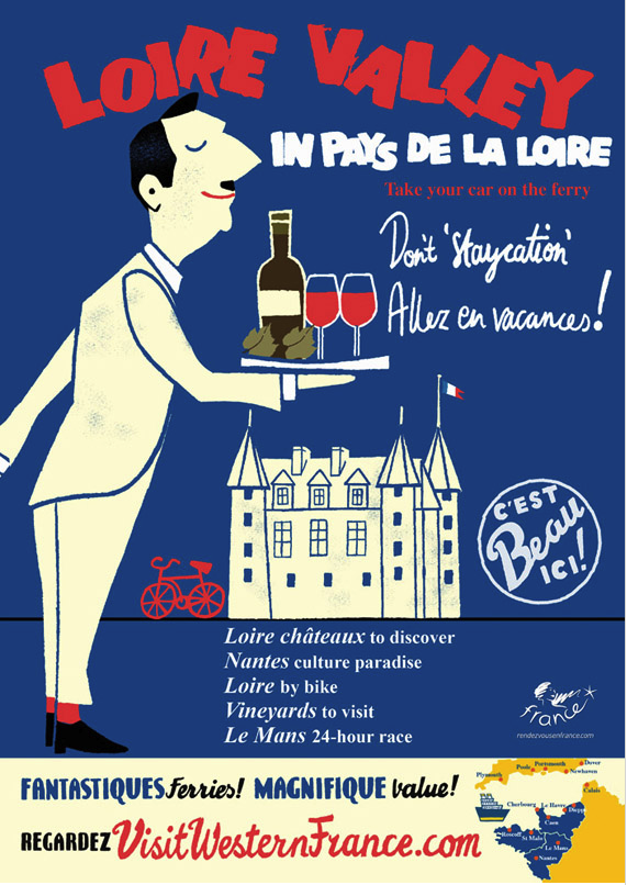 French Travel Poster - image 3 - student project