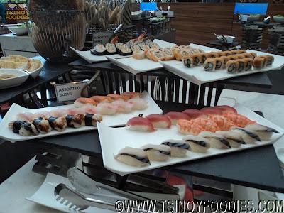 sushi maki buffet
