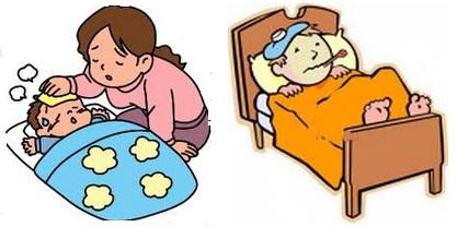 cara mengatasi panas demam pada anak