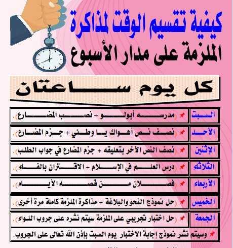 المراجعة الثانية لغة عربية للصف الثالث الثانوى2020  مستر  رضا الفاروق