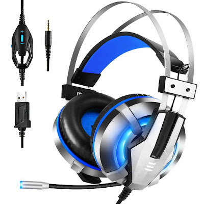 EKSA Stereo Gaming Headset for PS4, PC, Xbox One Controller, Noise Cancelling