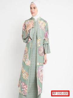 model baju batik pesta terkini