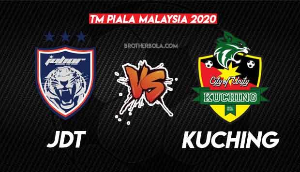 Live Streaming JDT vs Kuching Piala Malaysia 6.11.2020