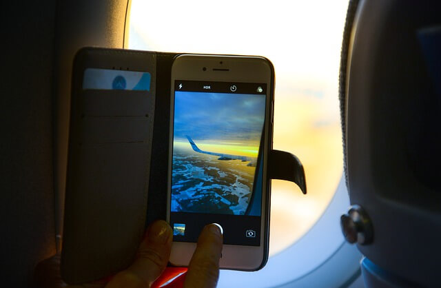 وضع الطيران في الهاتف اثناء الرحلة