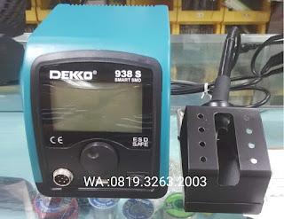 Darmatek Jual Solder Digital Dekko 938S Smart SMD di Jakarta Selatan
