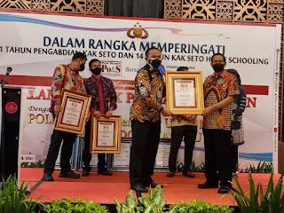 Kali Ini, Kapolres Sinjai Kembali Raih 2 Penghargaan Sekaligus dari Jakarta