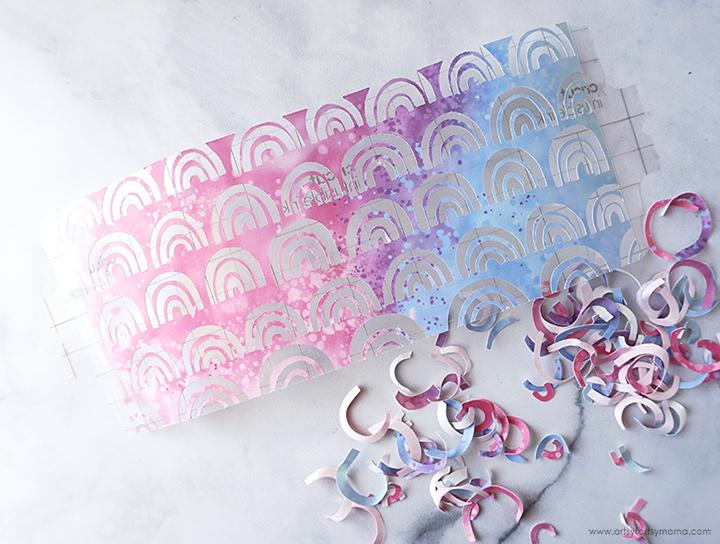 Weeded Infusible Ink Mug Wrap Design
