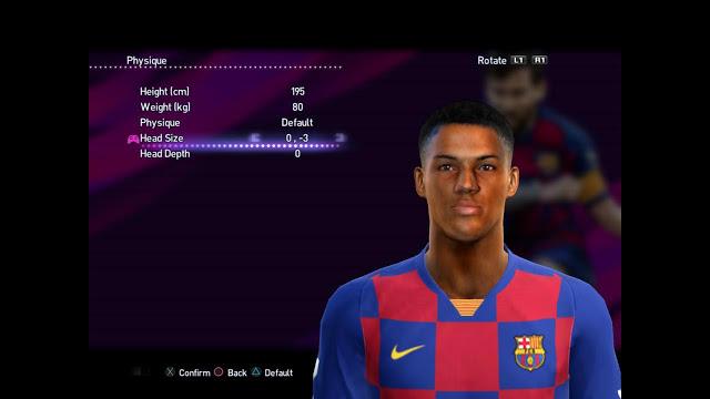 Xavier mbuyamba statistics played in mvv maastricht. Ultigamerz Pes 2013 Xavier Mbuyamba Fc Barcelona Face