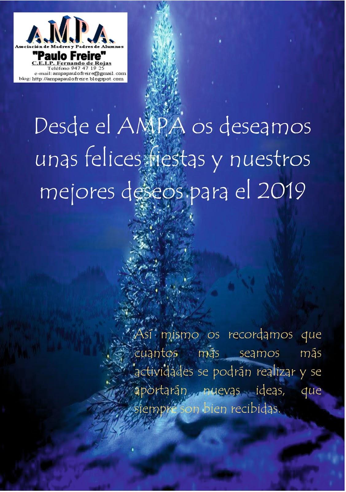 Feliz Navidad Siempre Asi.Ampa Paulo Freire Feliz Navidad Y Prospero Ano Nuevo
