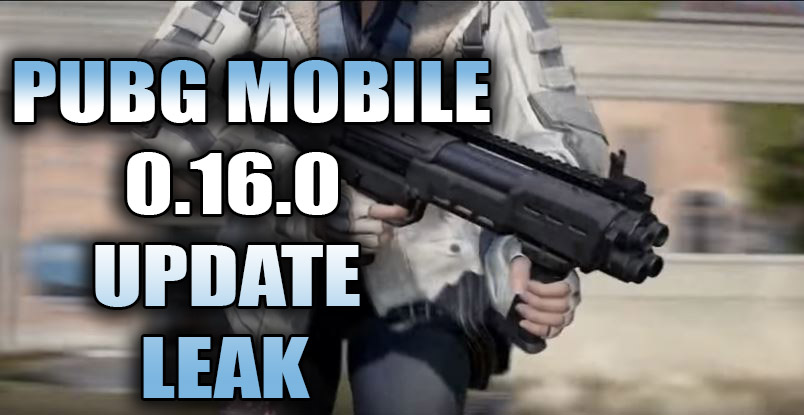PUBG MOBILE 0.16.0 UPDATE LEAK, NEW WEAPON, SNOW BIKE AND NEW ICON