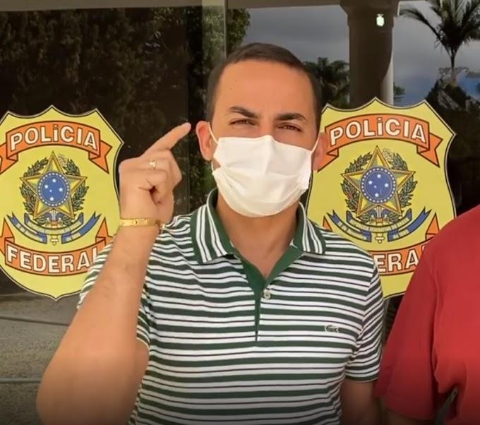 DENÚNCIA NA PF | Prefeito de Ituaçu acusa antecessor e subsecretária de Saúde de Conquista de malversação de verbas da Covid-19