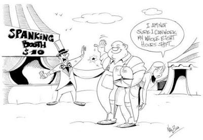 spanking booth cartoon