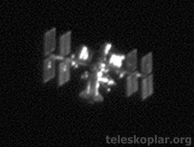 Teleskopla gözlemlenmiş UUİ