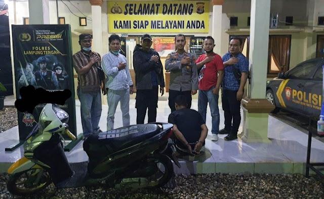 Pelaku Penipuan dan Penggelapan Ditangkap Tekab 308 Polsek Bumiratu Nuban