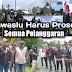HMI Demo Bawaslu Bursel Soal Pelanggaran Pilkada