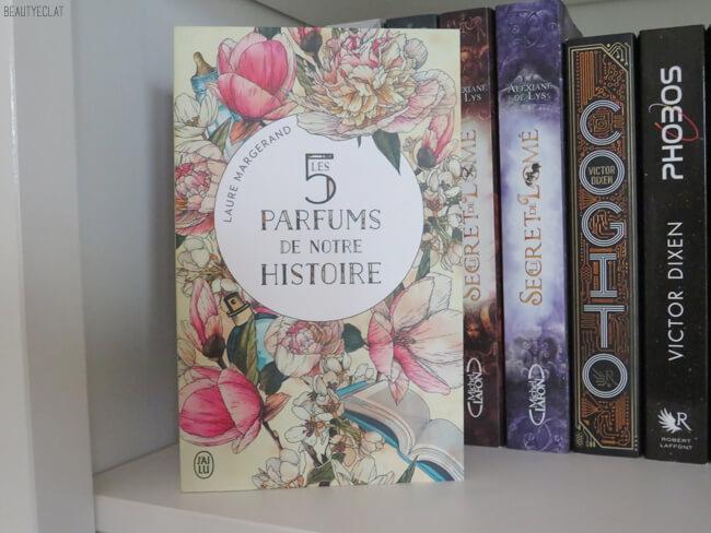 avis lecture les 5 parfums de notre histoire laure margerand