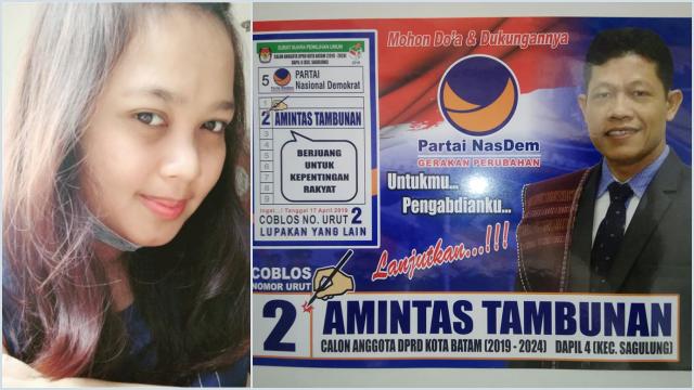 Diduga Sudah Ditiduri, Wanita Cantik Tagih Janji Anggota DPRD Batam untuk Menikahi