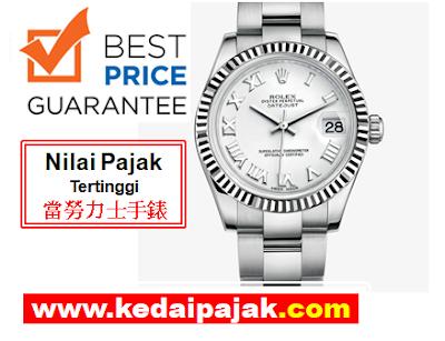 Pajak Rolex Datejust Dengan RM18,000 - kedaipajak.com