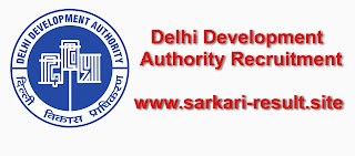Delhi Development Authority (DDA) recruitment
