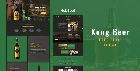 Best Beer & Liquor Store HubSpot Theme