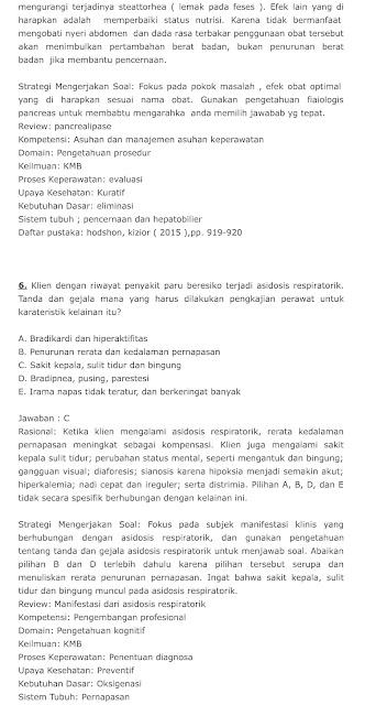 Soal SKB Perawat CPNS 2021