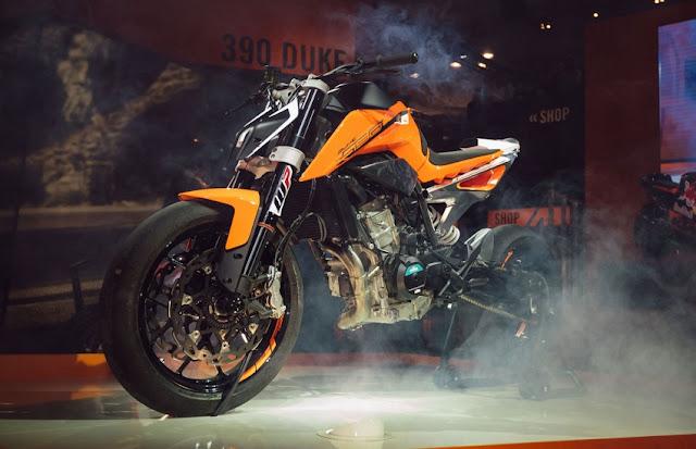 KTM Perkenal Model Baru 790 Duke 2017