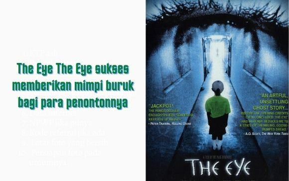 Film horor singapura the eye