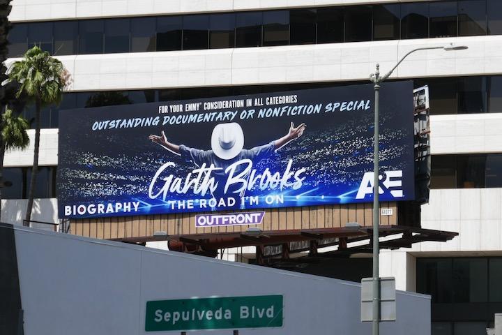 Garth Brooks Road Im On Emmy FYC billboard