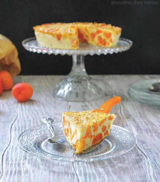 dessert frais , recette d'été , facile à faire , abricots , ricotta , fleur d'oranger , Régilait