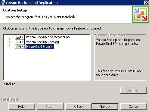 Cosonok's IT Blog: Veeam Backup and Replication v5 Install