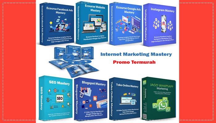 Ecourse Internet Marketing Terlengkap
