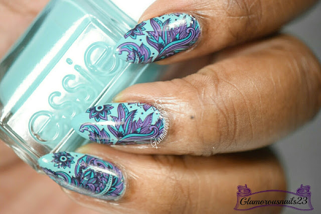 Born Pretty Store Blooming Flower Water Decals