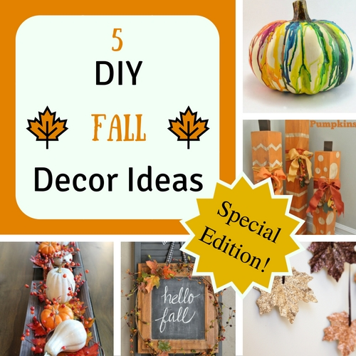 5 DIY fall decor ideas