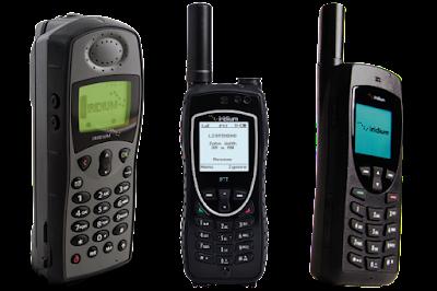 Spesifikasi Gadget / Handphone Satelit (Satellite Phone)