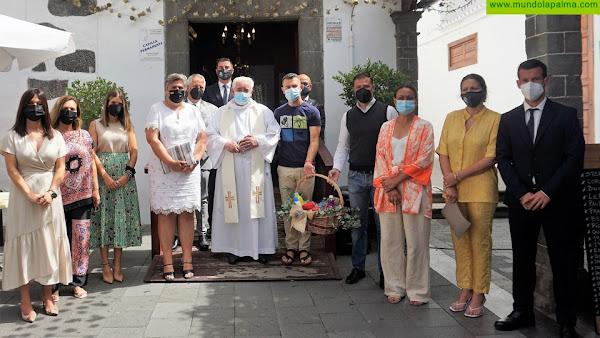 Los Llanos venera a la Virgen de Los Remedios con su tradicional ofrenda a la Patrona de Aridane
