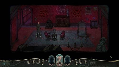 Stygian: Reign of the Old Ones có nền tảng bối cảnh 2D mộc mạc nhưng cũng đầy ám ảnh, hấp dẫn