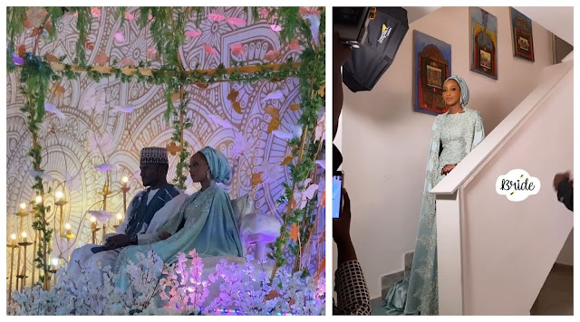 Check out more Photos from Yusuf Buhari and Zahra Bayero's pre-wedding dinner