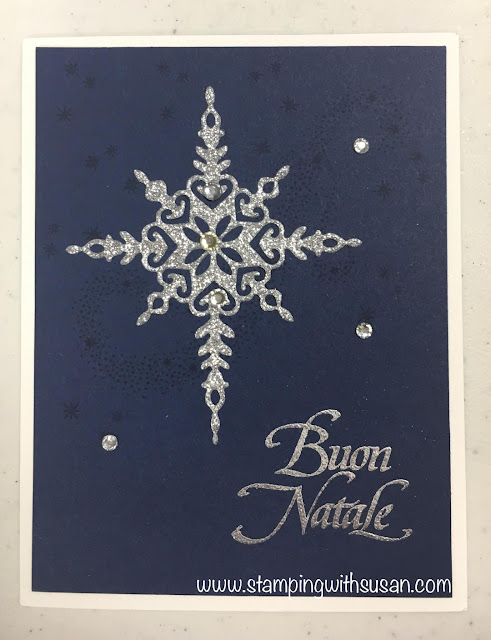 Stampin' Up!, www.stampingwithsusan.com, Star of Light, Starlight Thinlits