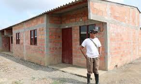 Subsidio de viviendas para víctimas de la violencia