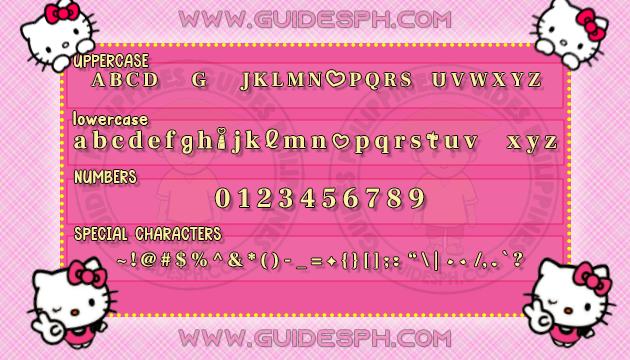 Mobile Font: Lippie Font TTF, ITZ, and APK Format