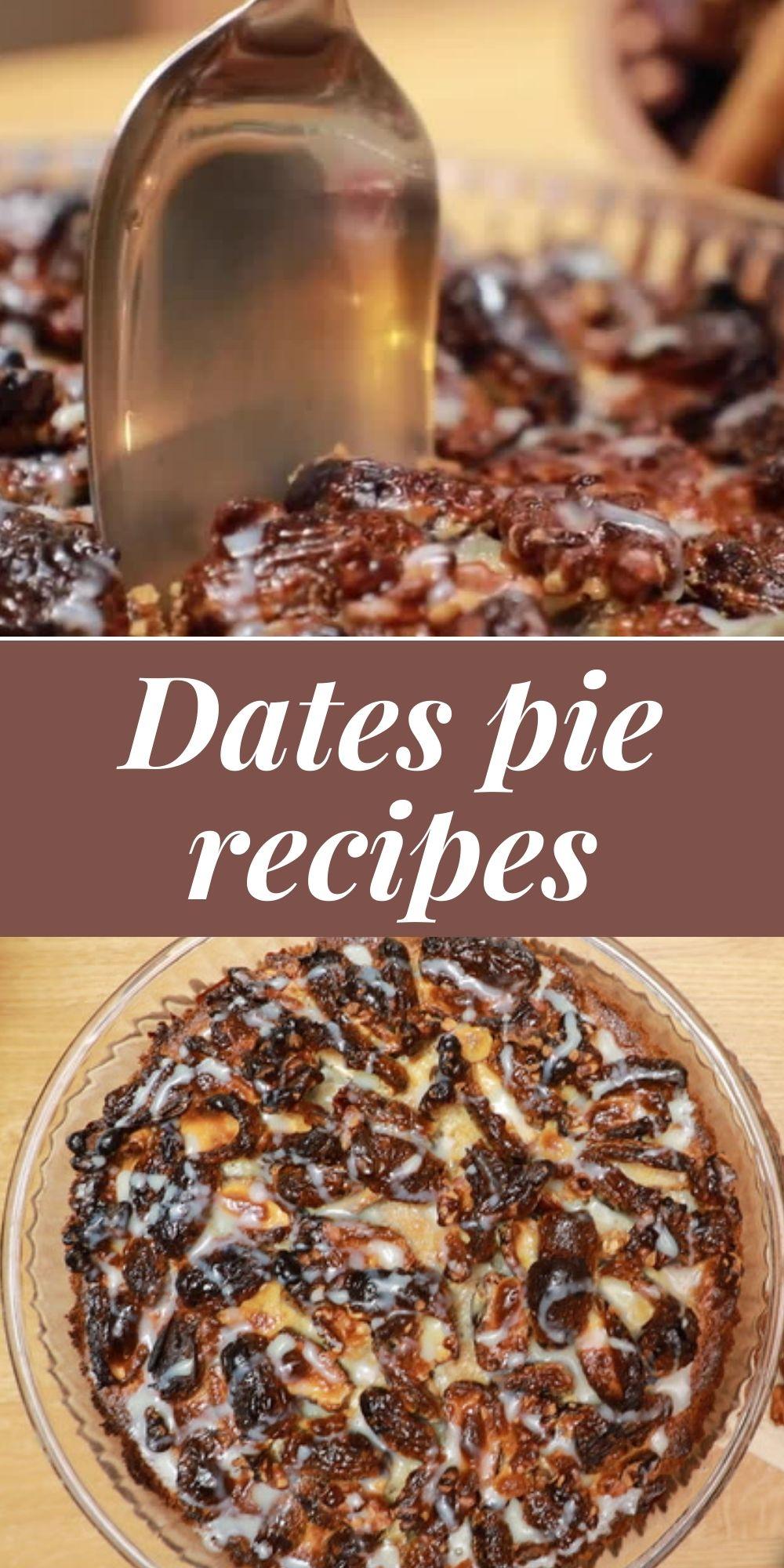 Dates pie