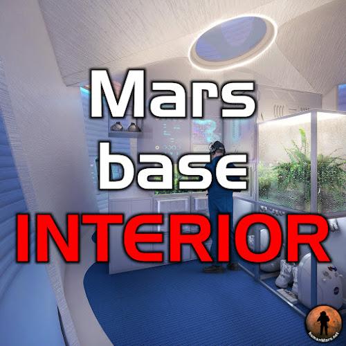 Mars base interior