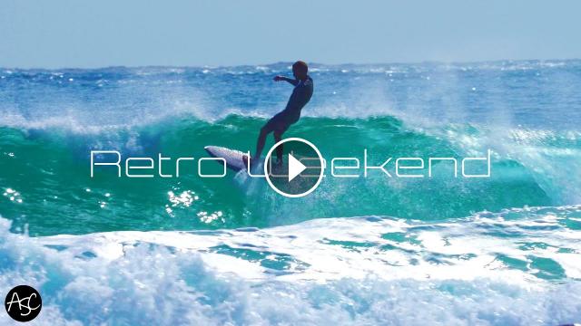 RETRO WEEKEND Singles Twins Surfing Noosa 4k