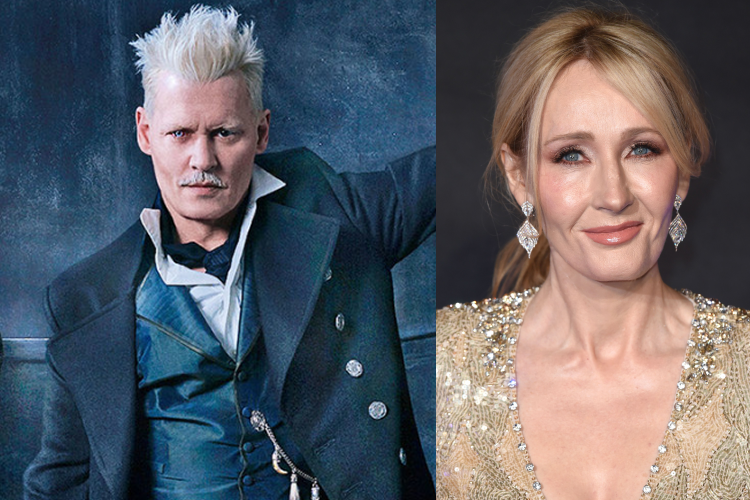 Actor Johnny Depp Cast in JK Rowlings Fantastic Beasts