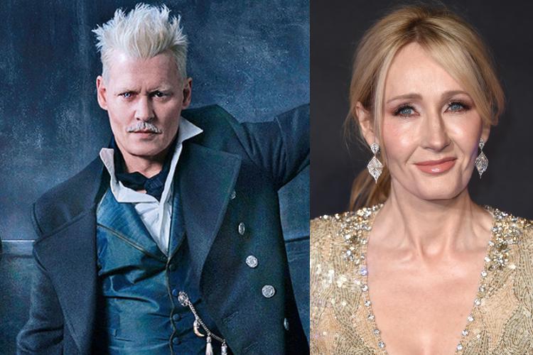 JK Rowling, Johnny Depp Casting